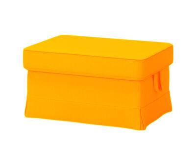 Élénk narancs Ektorp lábtartó huzat