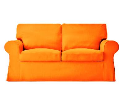 Ektorp kanapé huzat 2 személyes kinyitható (új modell) -  élénk narancs
