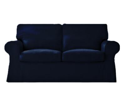 Ektorp kanapé huzat 2 személyes kinyitható (régi modell)  -  sötétkék