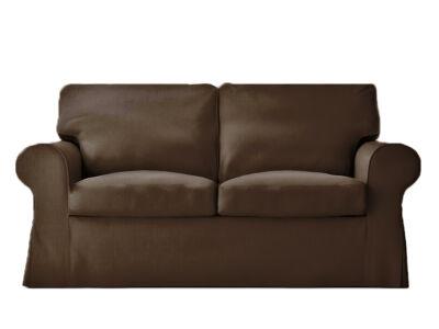 Ektorp kanapé huzat 2 személyes kinyitható (új modell) -  csokoládébarna