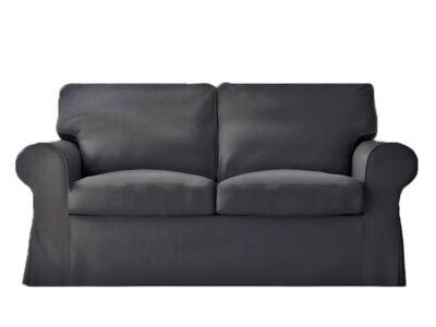 Ektorp kanapé huzat 2 személyes kinyitható (új modell) -  sötétszürke