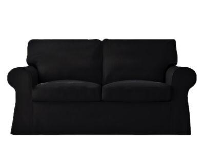 Ektorp kanapé huzat 2 személyes kinyitható (régi modell)  -  fekete
