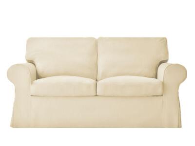 Ektorp kanapé huzat 2 személyes kinyitható (új modell) - bézs