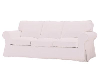 Törtfehér nem kinyitható 3 személyes Ektorp kanapé huzat