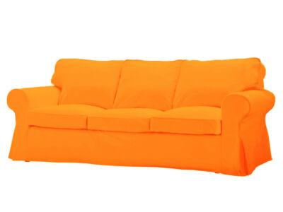 Élénk narancs 3 személyes kinyitható ektorp pixbo huzat