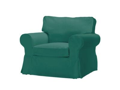 Sötétzöld Ektorp fotel huzat
