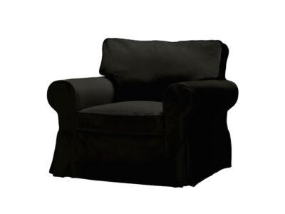 Fekete Ektorp fotel huzat