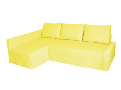 Friheten kanapé huzat - bal oldali - citromsárga