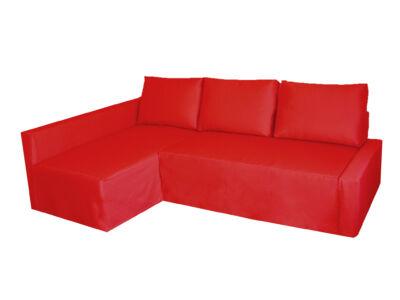 Friheten kanapé huzat - bal oldali - piros