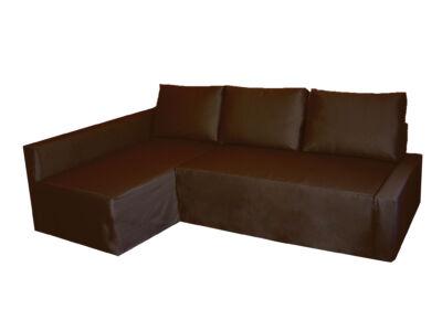 Friheten kanapé huzat - bal oldali - csokoládébarna
