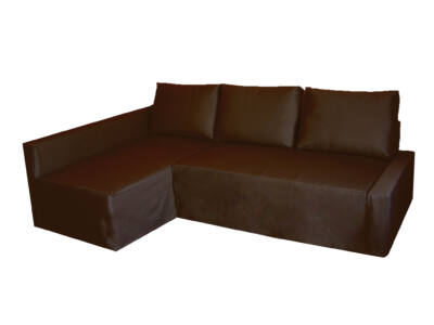 Friheten kanapéhuzat - bal oldali - csokoládébarna
