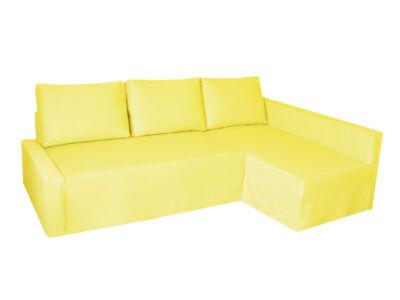 Friheten kanapé huzat - jobb oldali - citromsárga