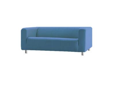 Klippan kanapé huzat 2 személyes - tengerkék