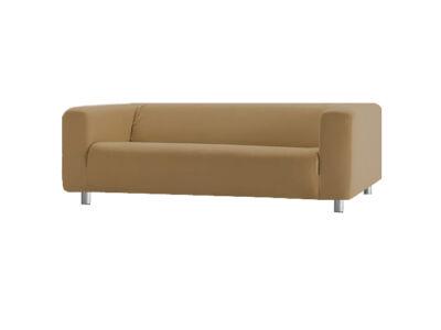 Klippan kanapé huzat 4 személyes - világosbarna