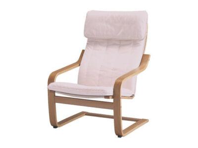 Poang fotel huzat - törtfehér