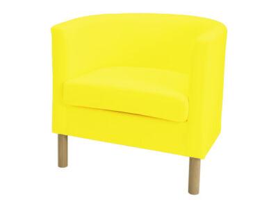 Solsta Olarp fotel huzat  -  citromsárga