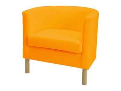 Solsta Olarp fotel huzat -  élénk narancs