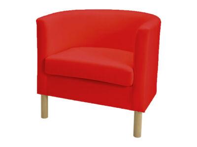 Solsta Olarp fotel huzat  -  piros