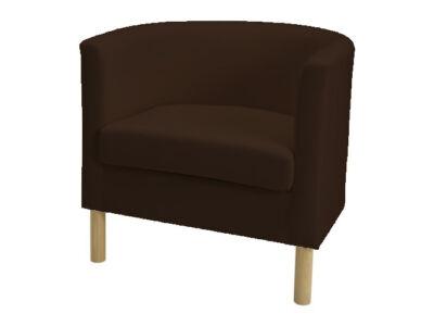 Solsta Olarp fotel huzat -  csokoládébarna