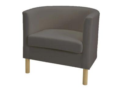 Solsta Olarp fotel huzat -  sötétszürke