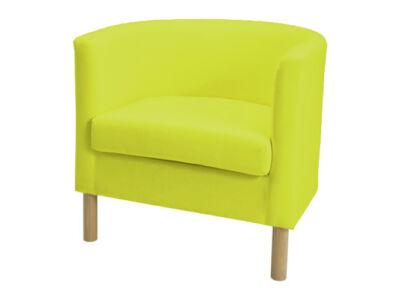 Solsta Olarp fotel huzat -  neon zöld