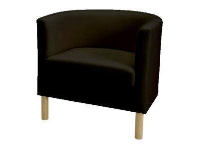 Solsta Olarp fotel huzat -  fekete