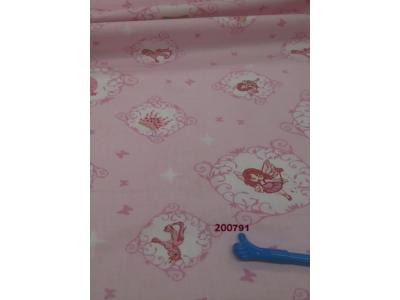Rózsaszín alapon tündér, unikornis falvédő