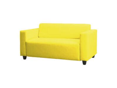 Solsta kanapé huzat kinyitható  -  citromsárga