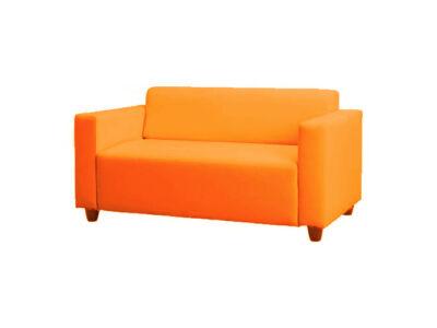 Klobo kanapé huzat - élénk narancs