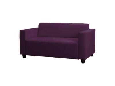 Klobo kanapé huzat - padlizsánlila