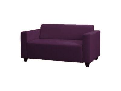 Solsta kanapé huzat (nem kinyitható) -  padlizsánlila