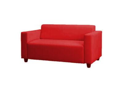 Solsta kanapé huzat (nem kinyitható)  -  piros