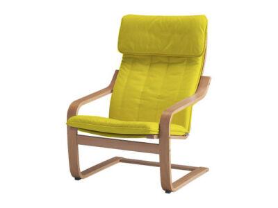 Poang fotelhuzat  - citromsárga