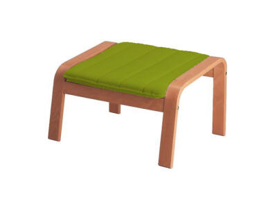 Poang lábtartó huzat - zöld
