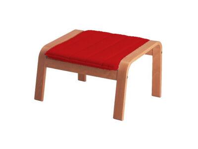 Poang lábtartó huzat  - piros