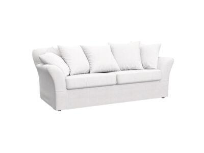 Tomelilla 2 személyes kanapé huzat (nem kinyitható) - Hanna sötétszürke